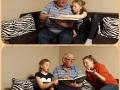 """Miejsce II w kat. uczniowie IV-VIII DOMINIKA ŻELEWSKA """"Nie ma to jak czytanie z dziadkiem"""""""