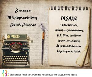 Biblioteka Publiczna Gminy Kosakowo Im. Augustyna Necla 1