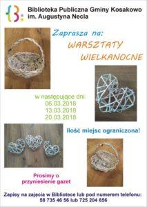Plakat Wielkanoc 2018 Kopiowanie