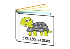 Z Książką Na Start Logo Kolor