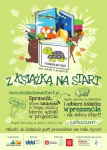 Plakat Z Książką Na Start Kopiowanie 1