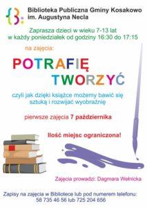 Plakat Warsztaty