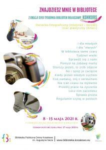 Plkat Tydzienbibliotek Konkurs